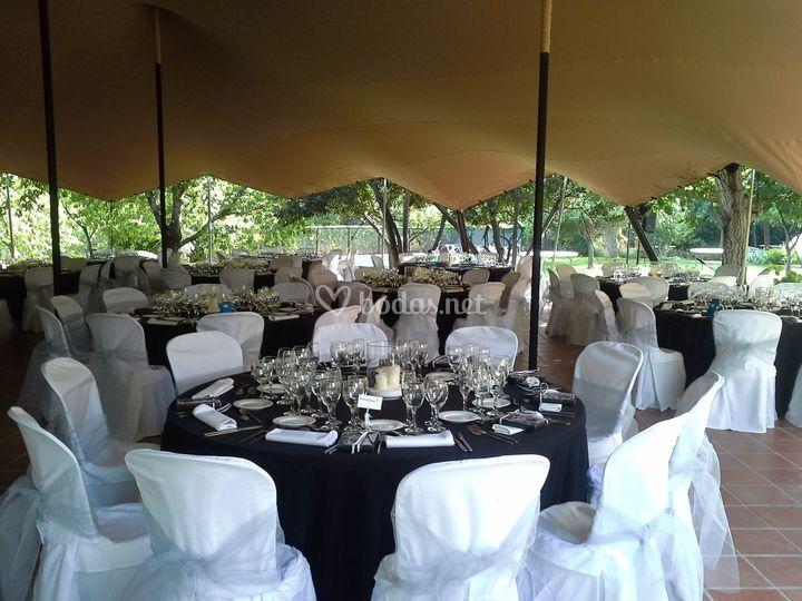 Banquete en la haima