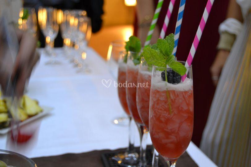 Cóctel aperitivo