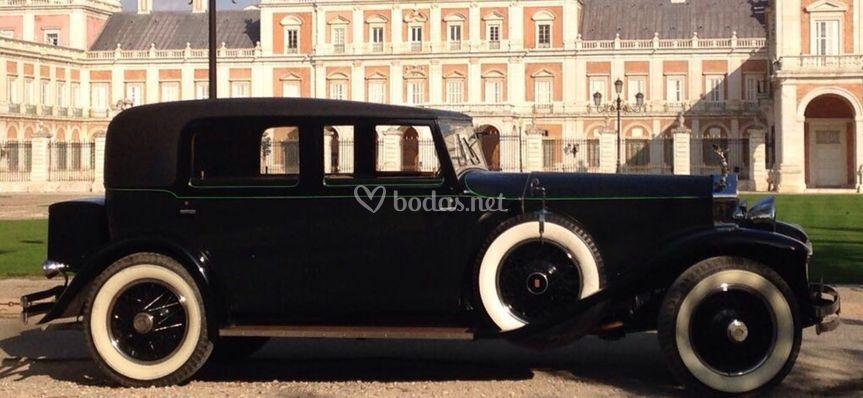 Rolls-royce phantom negro