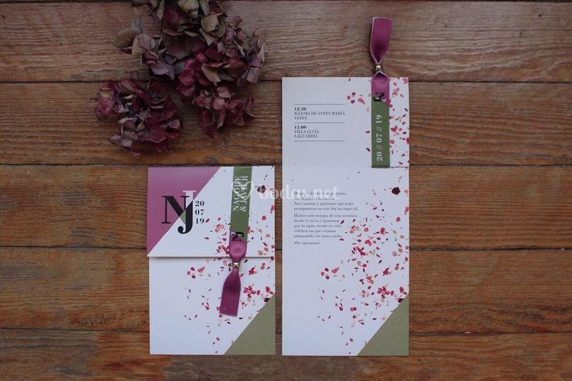 N&J Invitación