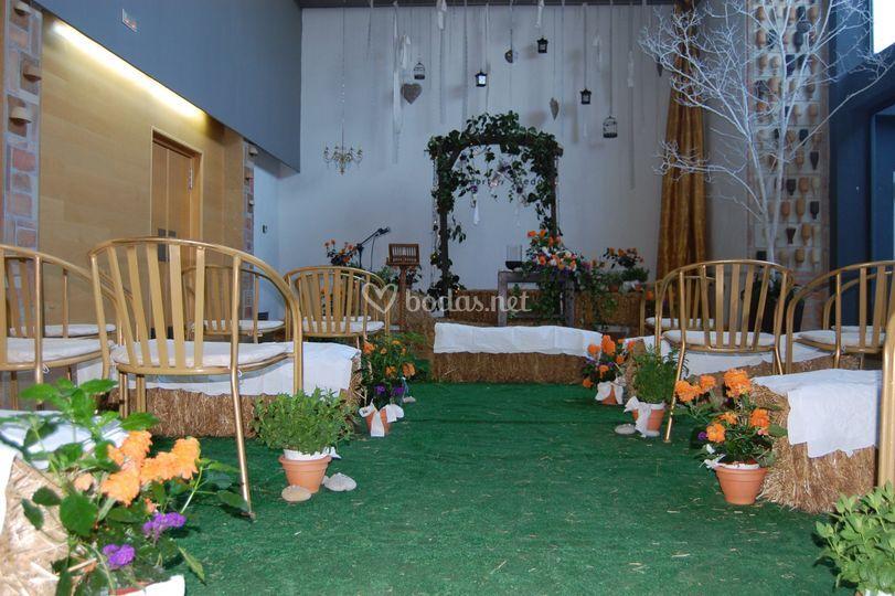 Ceremonia en Salón Principal