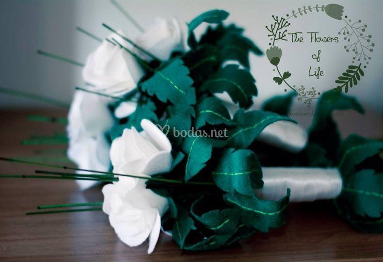 Ramo de tres rosas