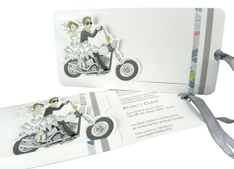 Invitación moto