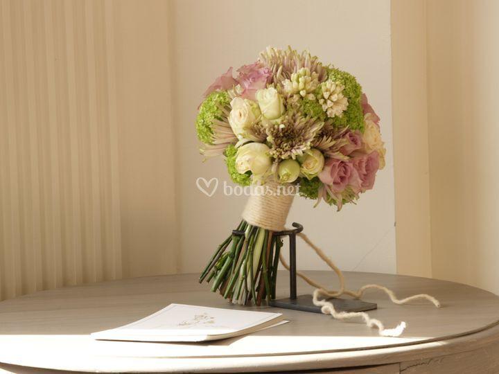 La delicadeza del bouquet