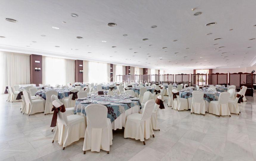 Montaje para banquetes