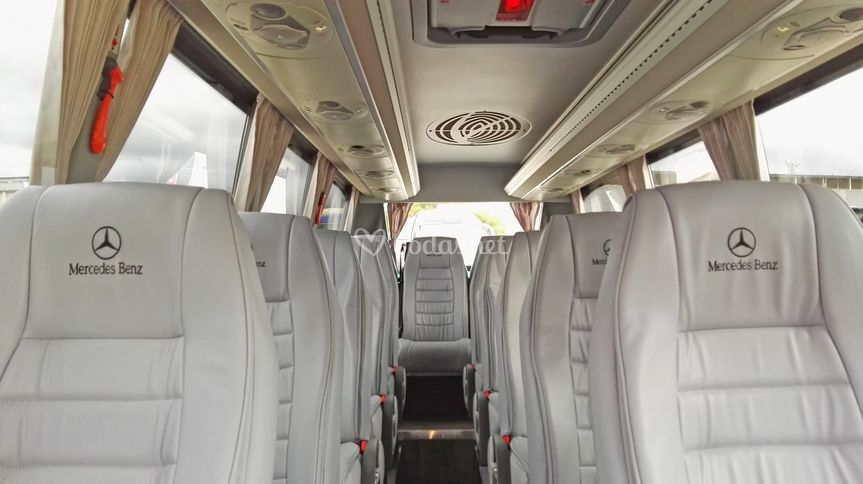 Interior minibús