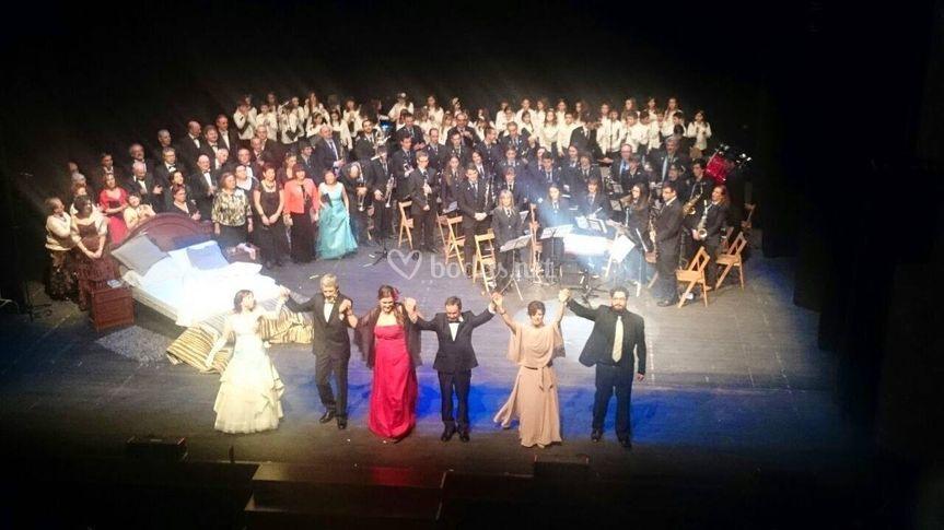 Actuación en Teatro Gaztambide