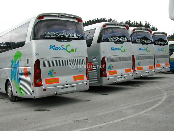 Buses de 55 plazas