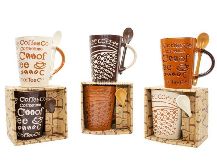 Tazas cerámica