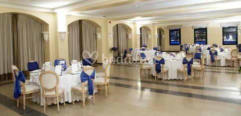 El banquete de la boda