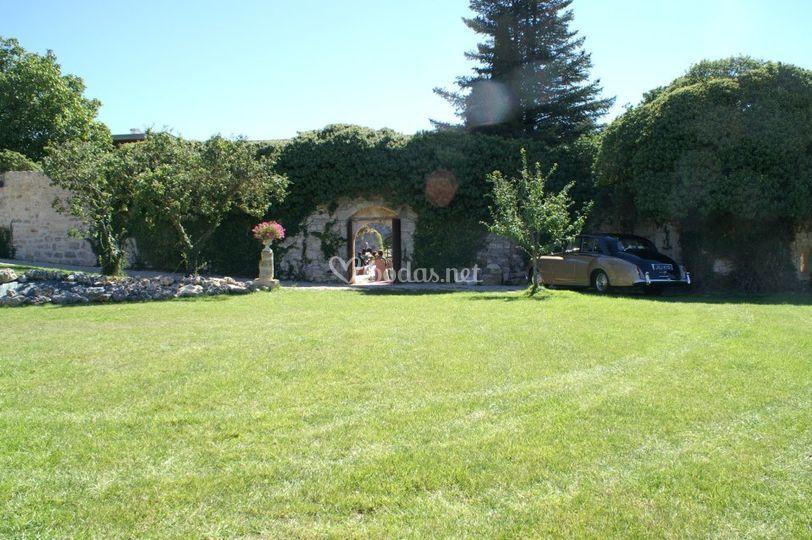 Jardín de Huérmeces