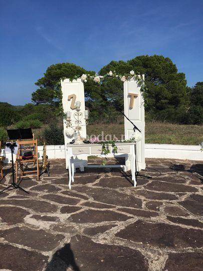 Altar rústico
