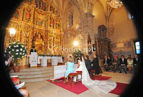 Bonita foto de la ceremonia