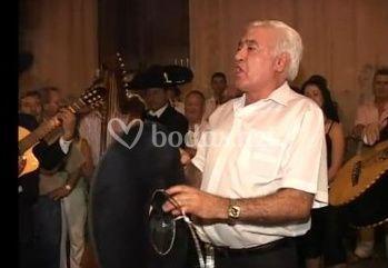 La voz de Vicente Gómez