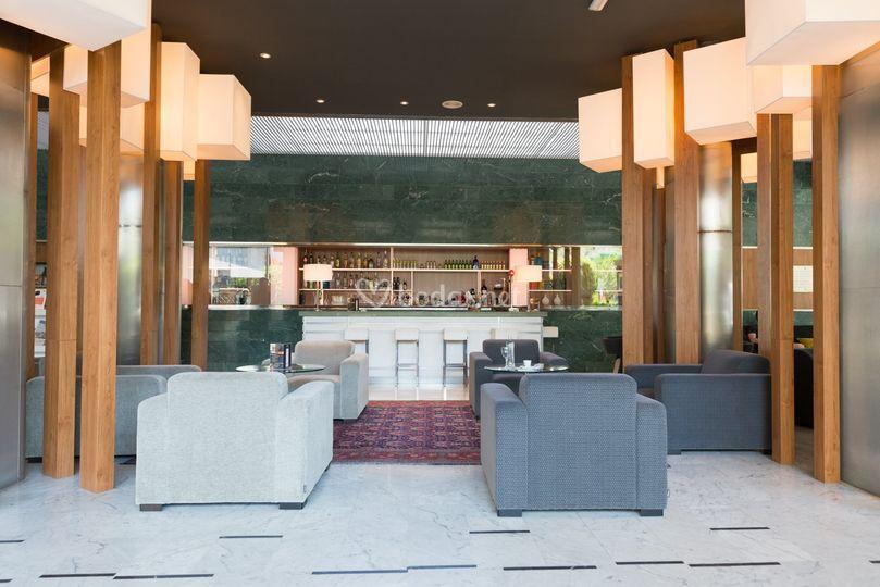 Hall del restaurante del hotel