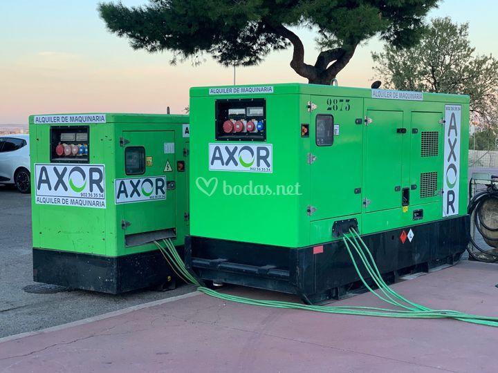 Generadores desde 5 a 500kva