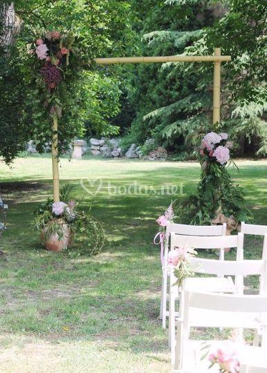Ceremonia civil: decoración