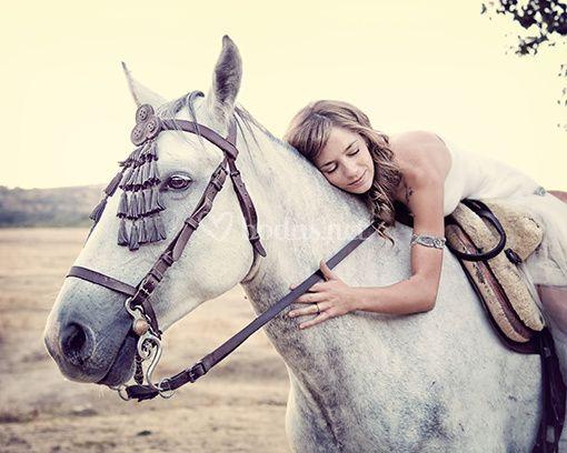Novias y caballos