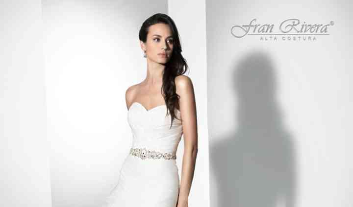 Fran Rivera, vestido con glamour