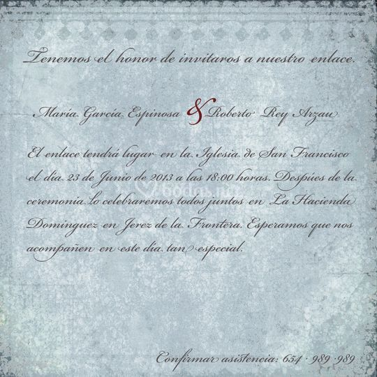 Invitación clásica