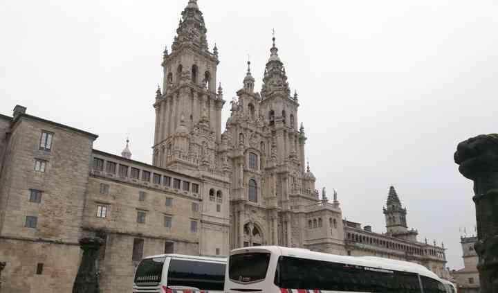 En la Catedral de Santiago