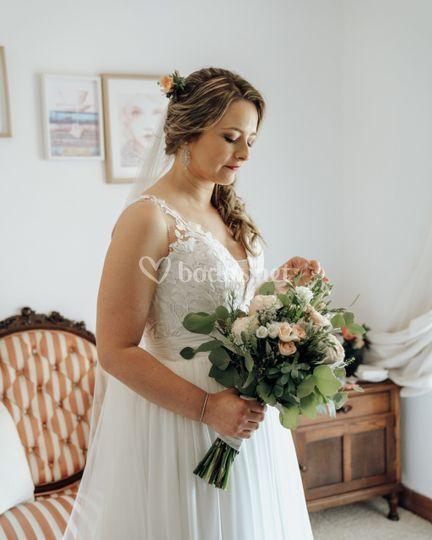 Los preparativos de la novia