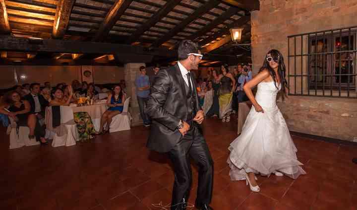 Baile original novios