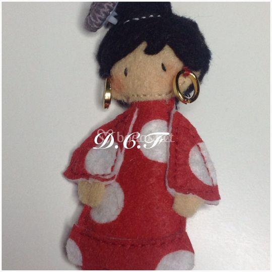Muñeca de flamenca