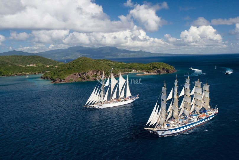 Cruceros al Caribe en velero