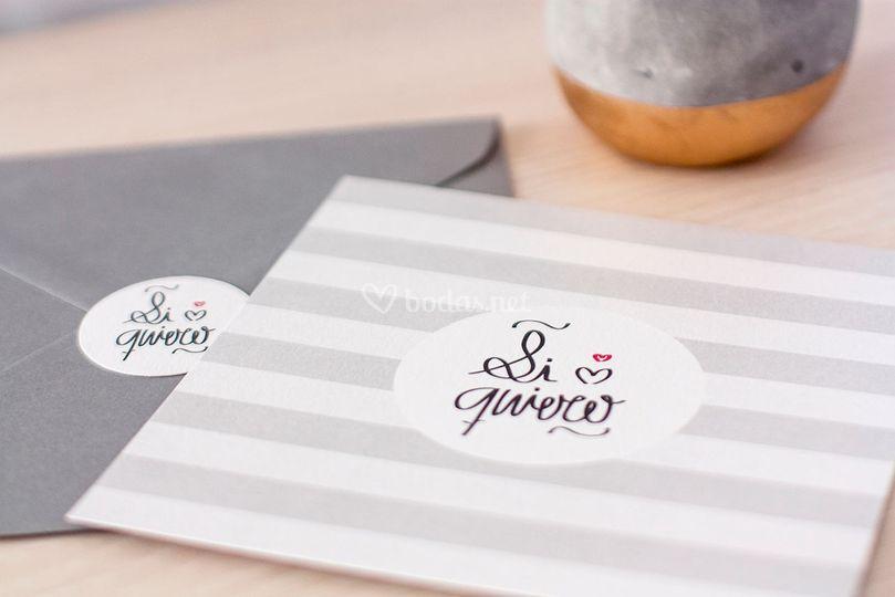 Invitación - Lovely stripes