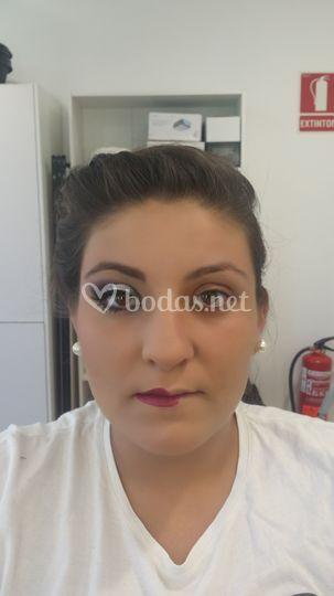 Maquillaje de fallera