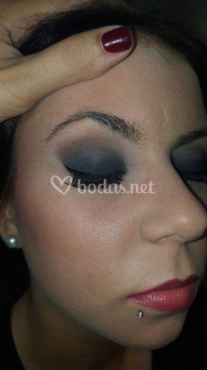 Maquillaje ahumado