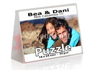 Caja puzzle invitación