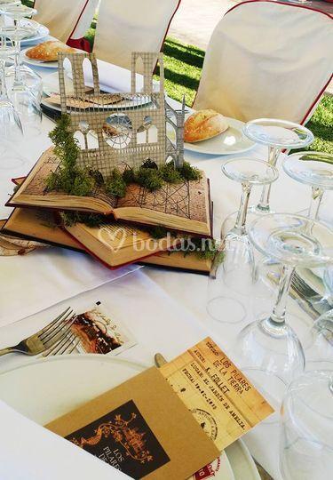 Una boda de libros