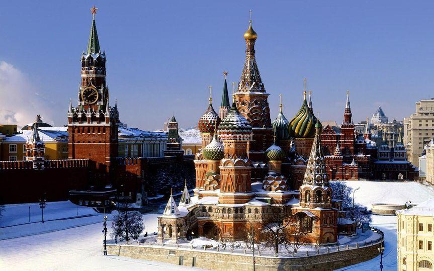 Viaje de novios Rusia