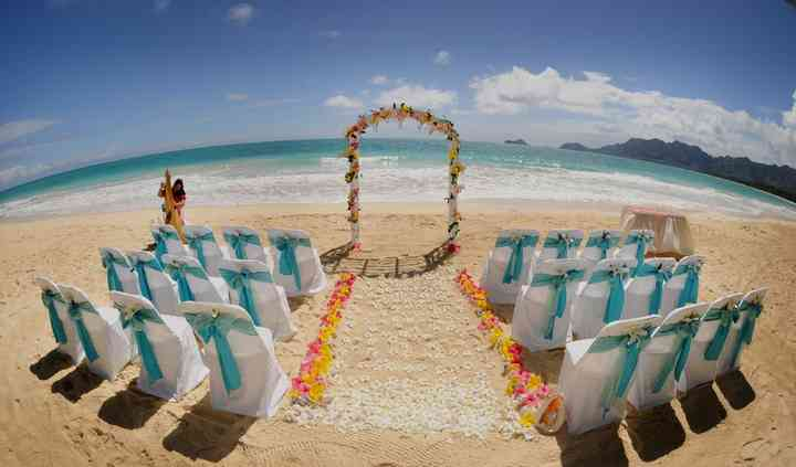 Ceremonia Playa lazo Aguamarin