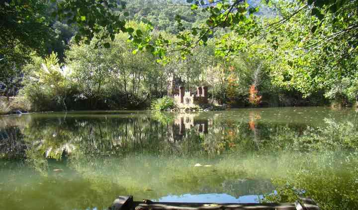 Lago del jardín