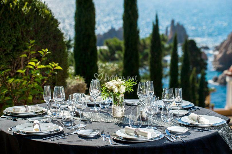 Banquete idílico