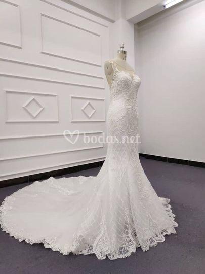 bd550ffa83 Vestido de novia personalizado
