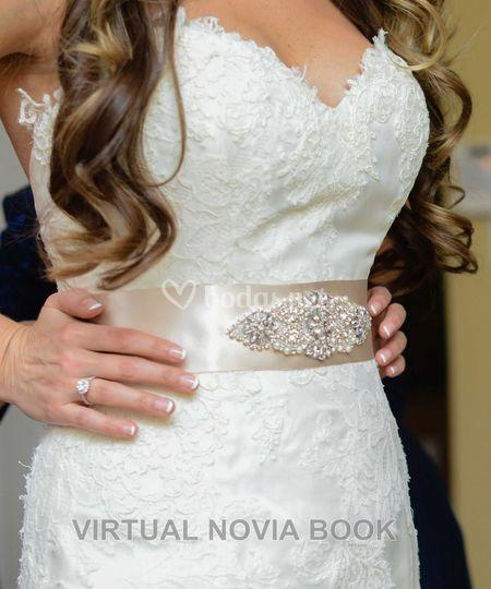 Cinturones para novia