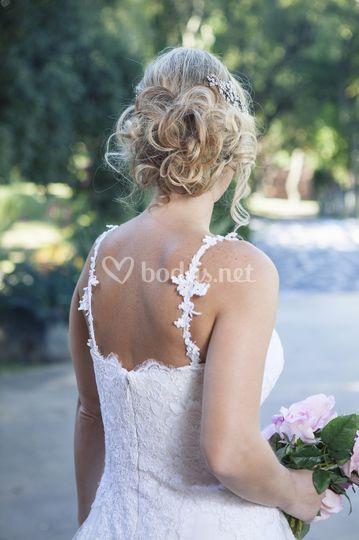 Isa peinado romántico