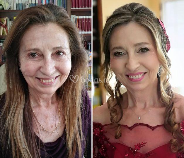 Maquillaje madrinas