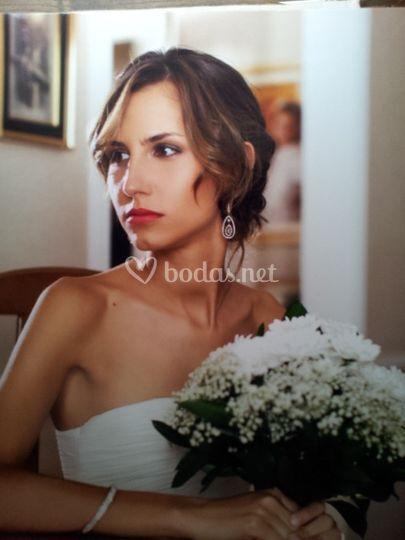 Perfil de una novia