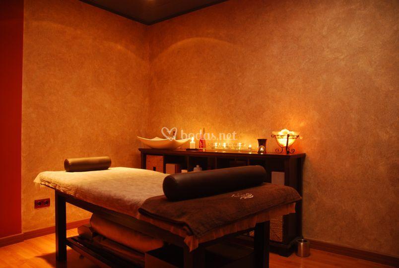 Cabina de masajes