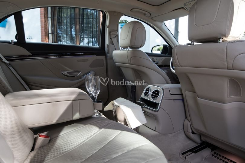 Interior Mercedes Clase S