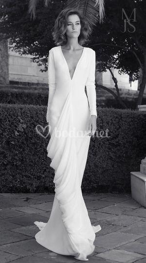 Vestidos novia civil sabadell