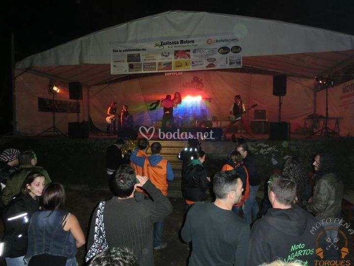 Iluminación concierto