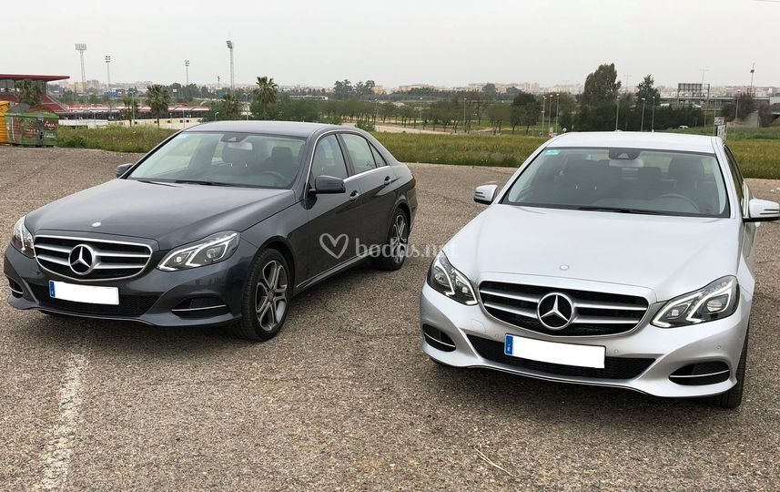 Mercedes-Benz E class en dos colores