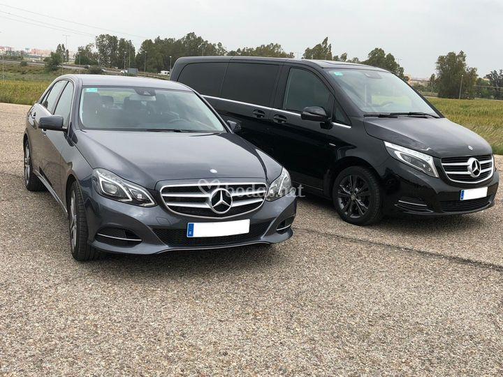 Mercedes-Benz E & V class