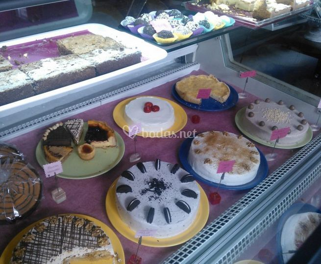 Gran variedad de tartas
